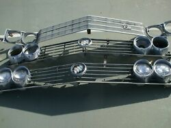 1960's Oldsmobile And Buick Front Grilles 5