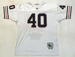 Mitchell And Ness Nfl Chicago Bears Gale Sayers Throwback Football Jersey 52 Usa