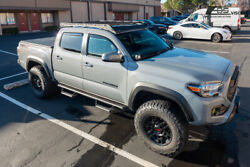 For 16-up Toyota Tacoma Double Cab In-channel Side Window Visors Rain Deflector