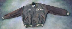Vintage Roots Sporting Goods Menand039s Leather Jacket Size Xxl.