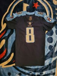 Marcus Mariota Authentic Tennessee Titans Game Issued Jersey