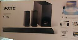 Sony Ht-rt5 Home Theater System W/ Active Wireless Speakers And Sub-woofer.