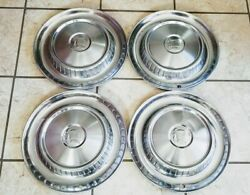 1957 Dodge Hubcaps Wheelcovers Classic Vintage Used Set