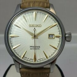 Seiko Presage Automatic Limited Gimlet Sary109 Stainless Men's Watch [b0212]