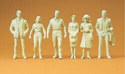 Preiser G Scale Figures Unpainted Figures Passers-by   45178
