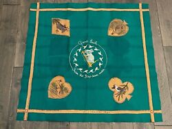 Vtg Ww Ii Australian Felt And Leather Textile Good Luck From The Boys Down Under