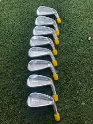 New Taylormade Tour Issue P760 Irons 3-pw Set Heads Only Rare P-760 Head .355