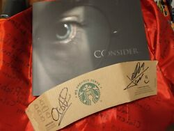 Signed - Oscar Book Harry Potter And The Deathly Hallows Part 2 Consider - Mint