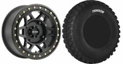 Mounted Wheel And Tire Kit Wheel 15x7 5+2 4/136 Tire 33x10-15 8 Ply