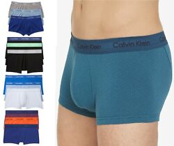 Calvin Klein Cotton Stretch Low Rise Trunks 3 Pack NU2664 Choose Color amp; Size $15.99