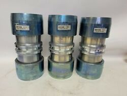 Lot Of 3 Lokring Ltcs-333-cpl-p32 Low Alloycarbon Steel Fitting 2 Couplers