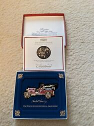 White House 2016 Christmas Ornament Fire Engine Truck Hoover Vg Free Ship