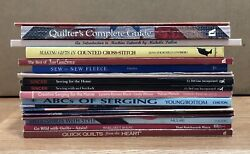 Lot Of 20 Hobby Craft Design Home Decorating Quilt Knit Sewing Books Randommix