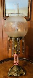 Henry Hooper Astral Sinumbra Oil Lamp Not Electricfied