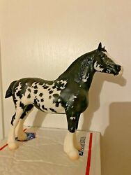 Palisades Passage To The Pacific Breyer Clydesdale Mare Black Pinto Draft Horse