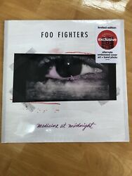 Foo Fighters Medicine At Midnight Embossed Cover Band Photo Sealed Target Vinyl