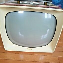 1950s Hotpoint Television - Model 14s206 - General Electric Company Chicago Il