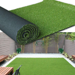 Artificial Grass Turf Area Rug - Grass Height 1.38 - Size 13ftx48ft - Perfect