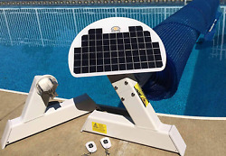 Automatic Solar Blanket Cover Reel/roller - Remote Controlled Solar Battery Cha