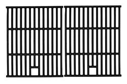 Hongso 17 1/4 Inch Cast Iron Cooking Grid Grates Replacement Parts For Nexgri...