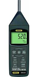 General Tools Dsm402sd Sound Level Meter With Data Logging Sd Card, Class 2