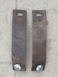 1966 1967 Ford Fairlane Front Fender To Bumper Brackets Mounts Supports