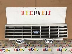 1981-1985 Ford Escort 2 Door Painted Gray Front Grille Grill Nice 81 82 83 84 85