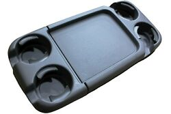 Oem Factory Odyssey Van Cup Holders Flip Up Seat Tray Front Center Table Folding