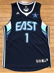 Rare Adidas 2009 Nba East All Star Jersey Pistons 76ers Allen Iverson Size 44