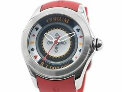 Corum Bubble 42 Casino 082.410.20 0176ch01 Stainless Steel Menand039s Watch [b0216]