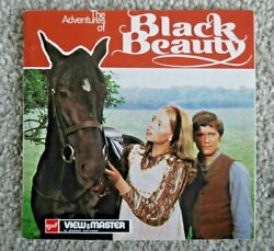 The Adventures Of Black Beauty 1973 Gaf Viewmaster Reels Set D135 Rare J234