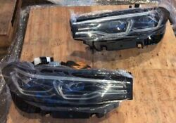 Bmw X7 G07 Oem Laser Headlight Eu Spec Full Set Left And Right With All Ballast