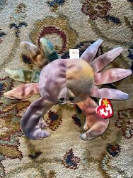 Rare Ty Original Beanie Baby Claude The Crab 1996 Retired Mint Cond With Tags