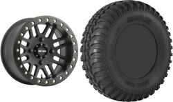Mounted Wheel And Tire Kit Wheel 15x7 5+2 4/156 Tire 32x10-15 8 Ply