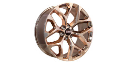 24x10 6x132 Str701 Snowflake Candy Rose Gold Made For Chevy Traverse
