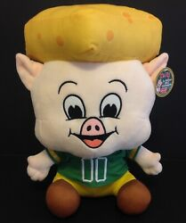 Piggly Wiggly 2017 3rd Edition Mr. Pig 15 Plush Cheese Head Green Bay Packers