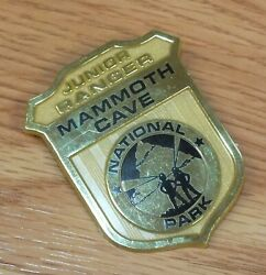 Vintage Mammoth Cave National Park Junior Ranger Collectible Badge Pin