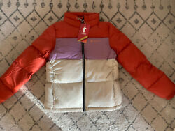 Cotopaxi Womenand039s Solazo Colorblock Puff Down Jacket - Plum - Small - Nwt