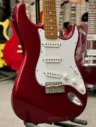 Used 2008 Fender Jp St62 Mod Stratocaster Electric Guitar Old Candy Apple Red