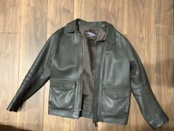 Used Gibson And Barnes Indiana Jones Jacket Mens S Size Replica Goat Leather