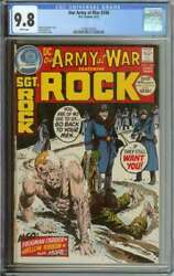 Our Army At War 246 Cgc 9.8 White Pages // Highest Graded 1 Of 2 9.8s On Census
