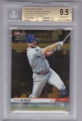 2019 Topps Now Future Pa6 Pete Alonso Rc 4/5 Bgs 9.5