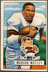 1951 Bowman Football Vintage Cards Pick Complete Your Set Free Shipping