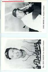 1962 Los Angeles Dodgers Picture Pack 12 Pictures St5496