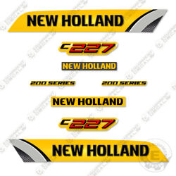 New Holland C227 Decal Kit Skid Steer Reproduction Equipment Decals - 3m Vinyl