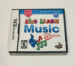 Kids Learn Music A+ Edition Nintendo Ds 2011 Brand New Sealed - Ships Fast