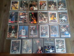 Shaquille O`neal Shaq Lot Of 23 W/ Topps 1992 362 Rookies And More