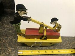 1930andrsquos Moon Mullins And Kayo Wind Up Toy By Marx Co. Plus Moon Mullins 19315comic