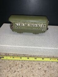Marx Toys Army Supply Train Made In Usa Official Car Tin Vintage Litho