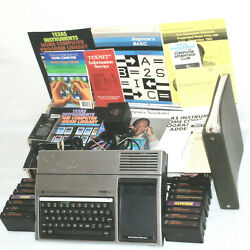Texas Instruments Ti-99/4a Home Computer Bundle+ 15 Games + Retail Boxpowers On